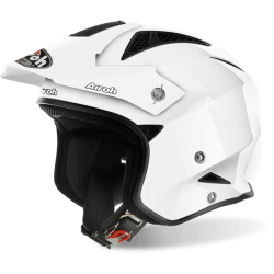 Casco AIROH TRR S COLOR WHITE