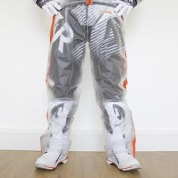 Pantalone Antipioggia TRASPARENTE APICO (ArancioneFluo)