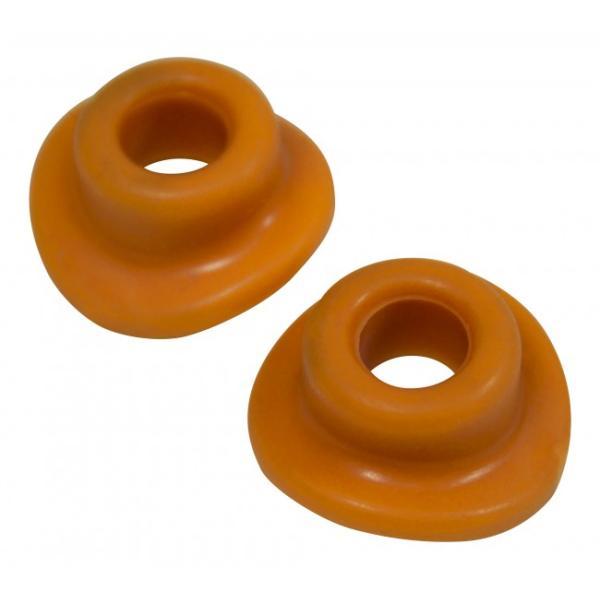 Copertura Valvole Pneumatici in Silicone (Arancione)