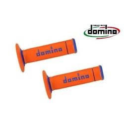 Manopole Domino Arancione Azzurro