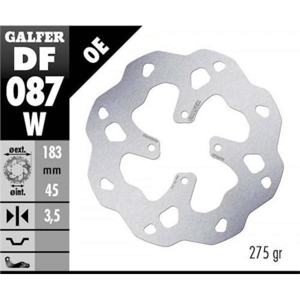 Disco Freno Posteriore GALFER MONTESA 4Ride 16-18