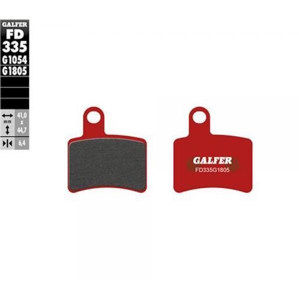 Pastiglie Freno GALFER Rosse FD335