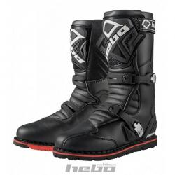 Stivali HEBO THECNICAL 2.0 LEATHER BLACK