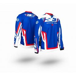 Maglia S3 TRIAL RACING TEAM PILOT BLUE