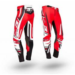 Pantalone S3 TRIAL RACING TEAM PILOT RED