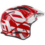 Casco AIROH TRR S CONVERT RED GLOSS