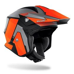 Casco AIROH TRR S PURE ORANGE MATT