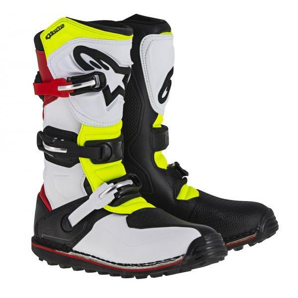 Stivali Alpinestars TECH.T WhiteRed-YfLUO