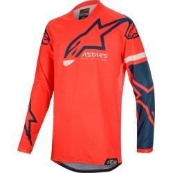 Jersey ALPINESTARS Racer Tech 2020 (Blue-Red)
