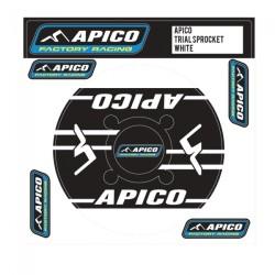 Adesivo Corona APICO 43-44 (Nero-Bianco)