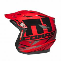 Helmet COMAS CT01 RACE (Red)