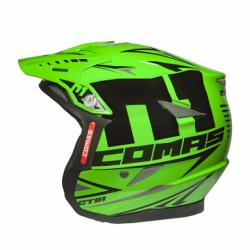 Helmet COMAS CT01 RACE (Fluo Green)