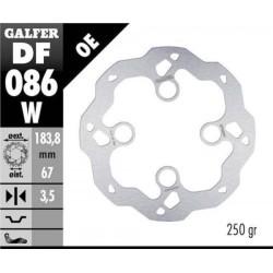 Disco Freno Anteriore GALFER Montesa 4RT 15-17