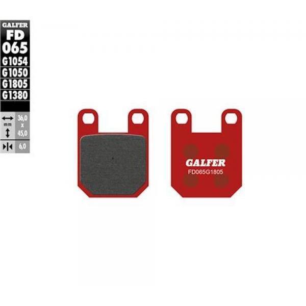 Pastiglie Freno GALFER BETA TECHNO - GAS GAS CONTACT - MONTESA 315 - SCORPA<99 - SHERCO99-01