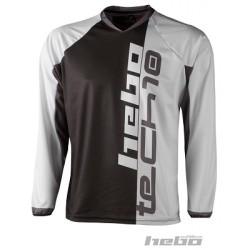 Maglia HEBO Trial Tech 10 (Nero)