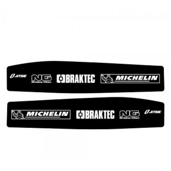 Adesivi Forcellone JITSIE BETA EVO (Michelin)