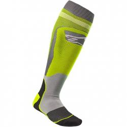 SOCK ALPINESTARS MX PLUS 1 (GREY-YFLUO)