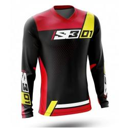 Maglia S3 TRIAL 01 (RED-YELLOW)