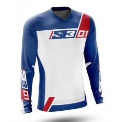 Maglia S3 TRIAL 01 (BLUE-RED)