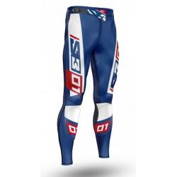 Pantalone S3 TRIAL 01 (BLUE-RED)